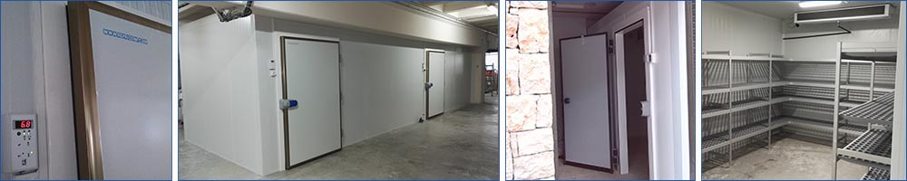 Refrigerated cold rooms