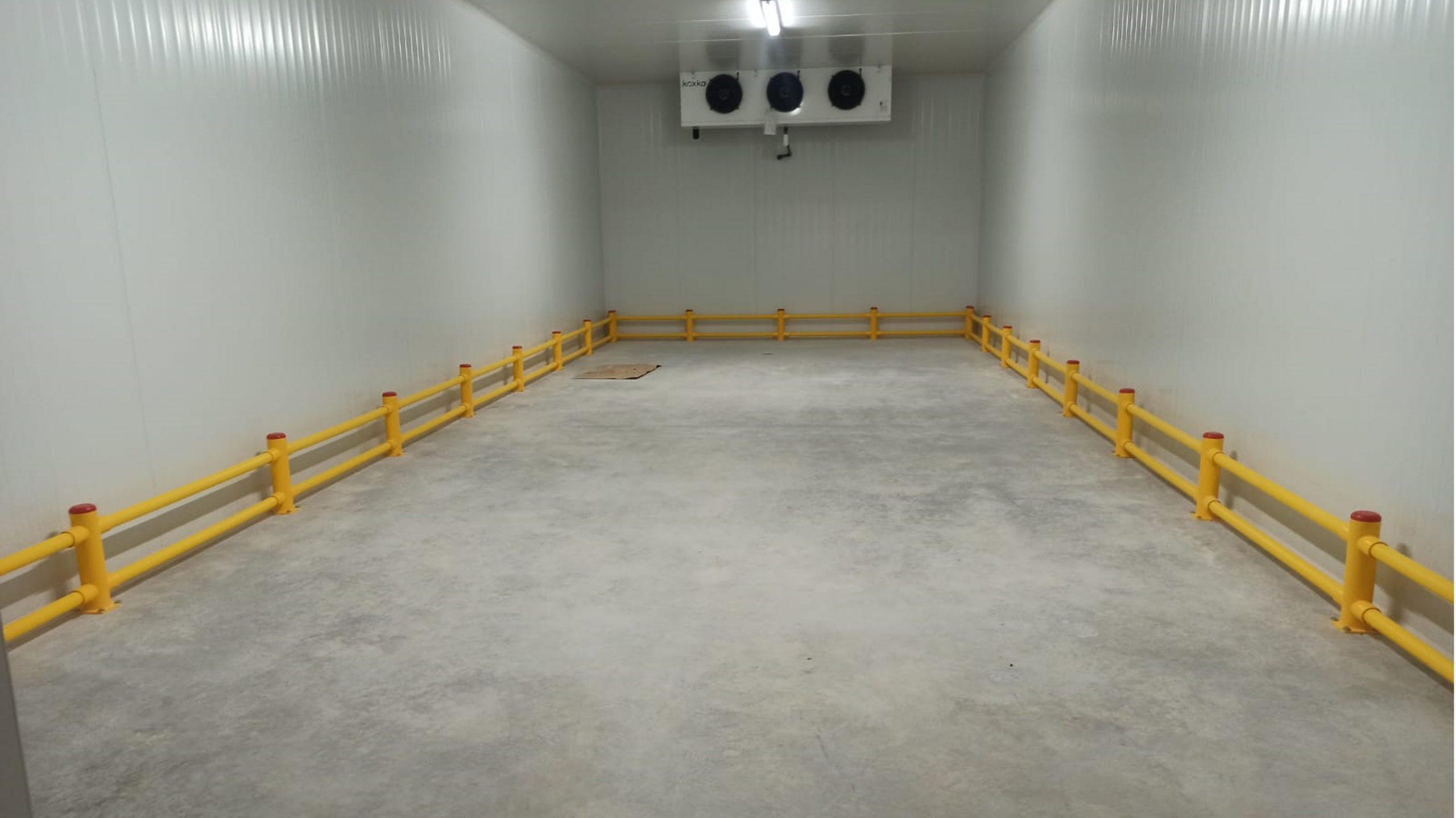 Protecciones pasillo