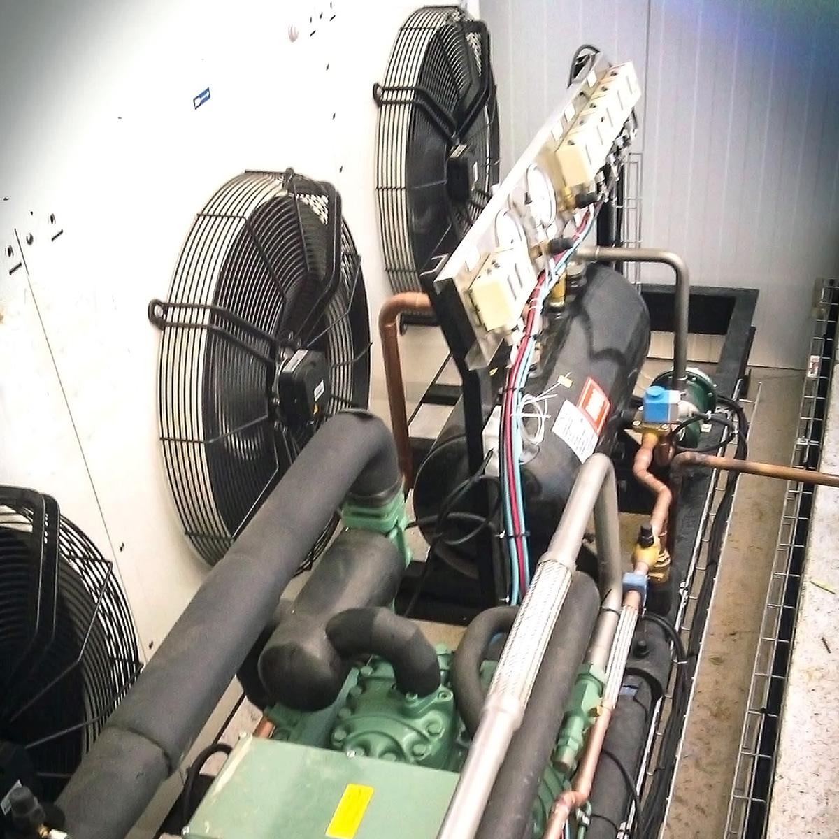 unidad condensadora doble etapa